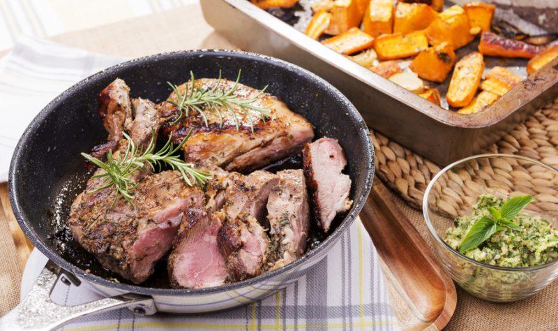 agnello al forno ricetta