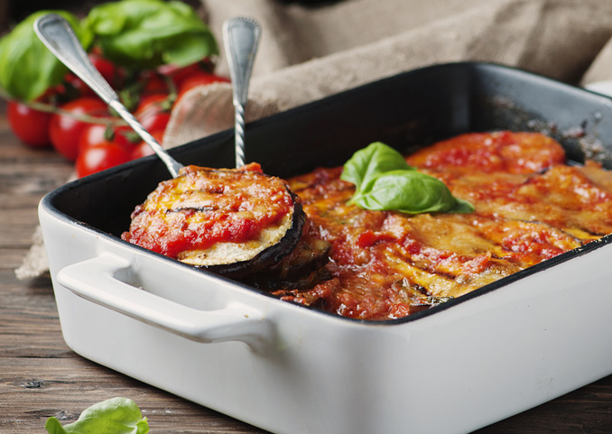 parmigiana melanzane grigliate