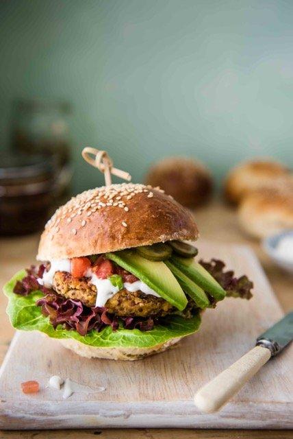 burger di quinoa