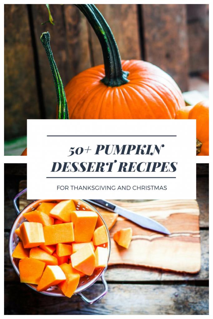 Pumpkin Desserts Recipes
