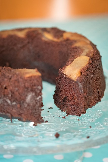 torta mele al cioccolato