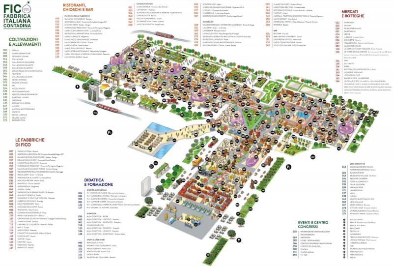FICO Bologna Map