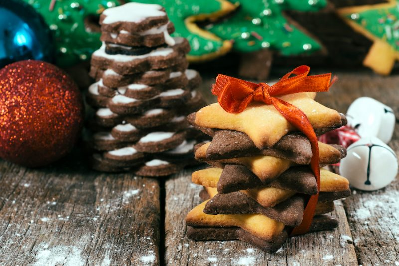 Biscotti al cioccolato in barattolo