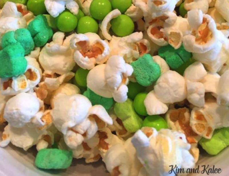 St Patrick's Popcorn