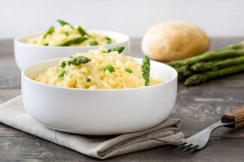 risotto asparagi limone