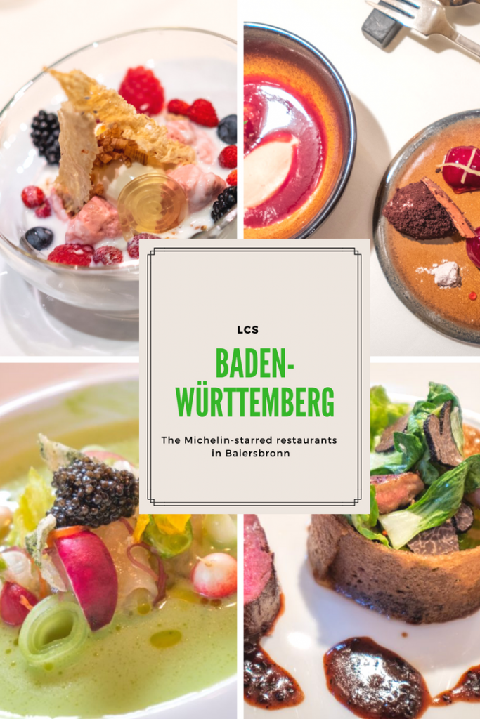 The Michelin-starred restaurants in Baiersbronn