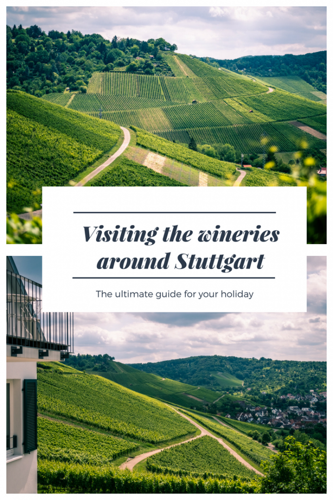 Visiting the vineyards and the wineries around Stuttgart