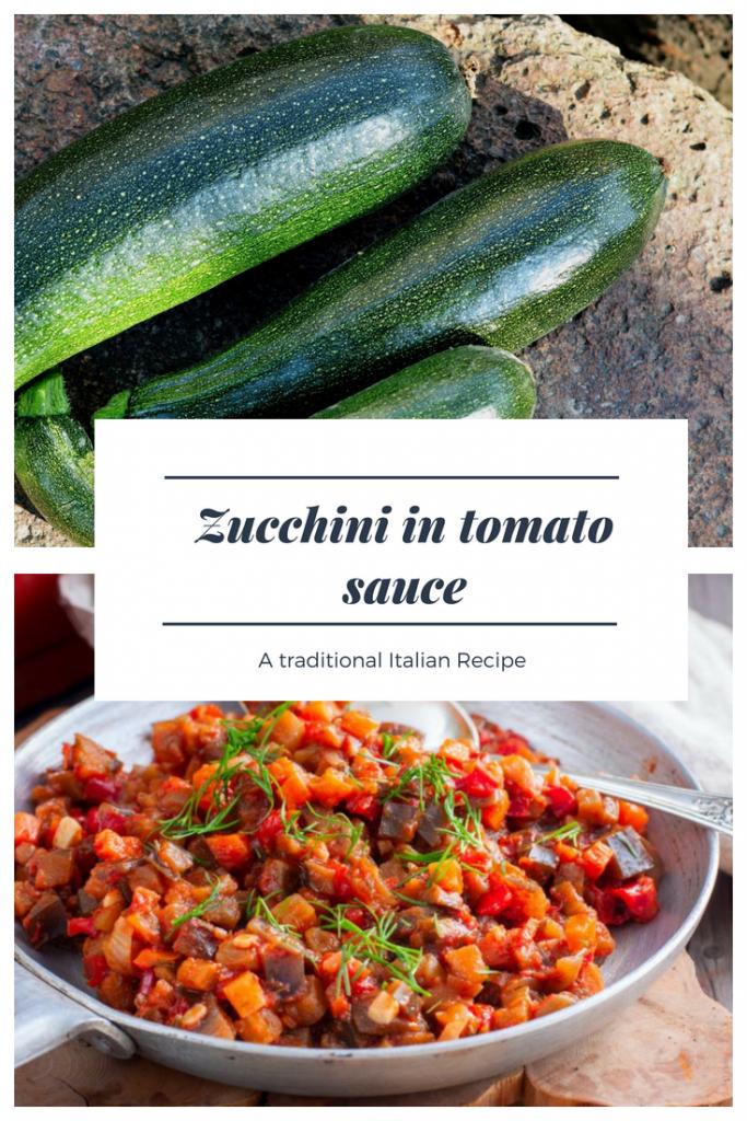 Zucchini in tomato sauce recipe