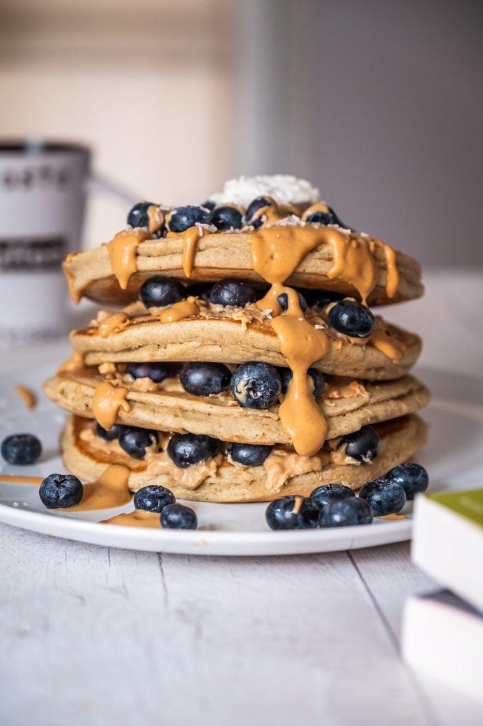 Pancakes Peanut Butter
