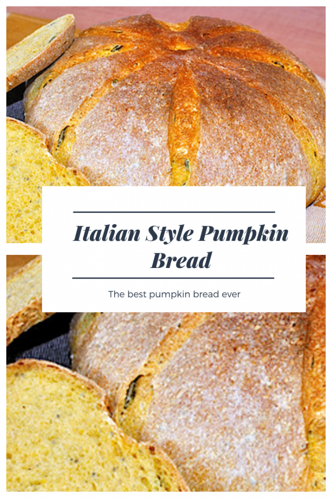 pumpkin bread recipe italian