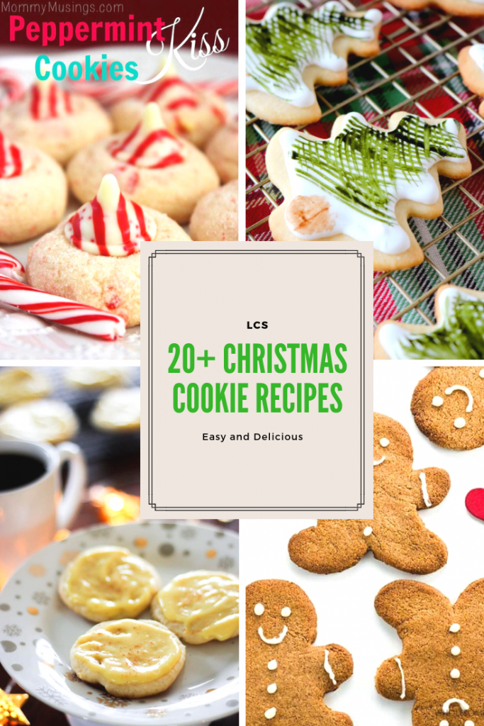 20+ Easy Christmas Cookie Recipes