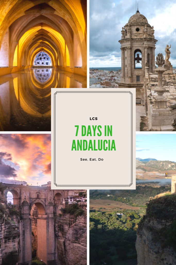 7 days andalucia
