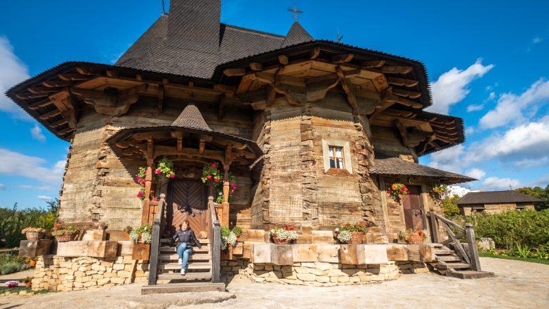 Chiesa legno Moldova