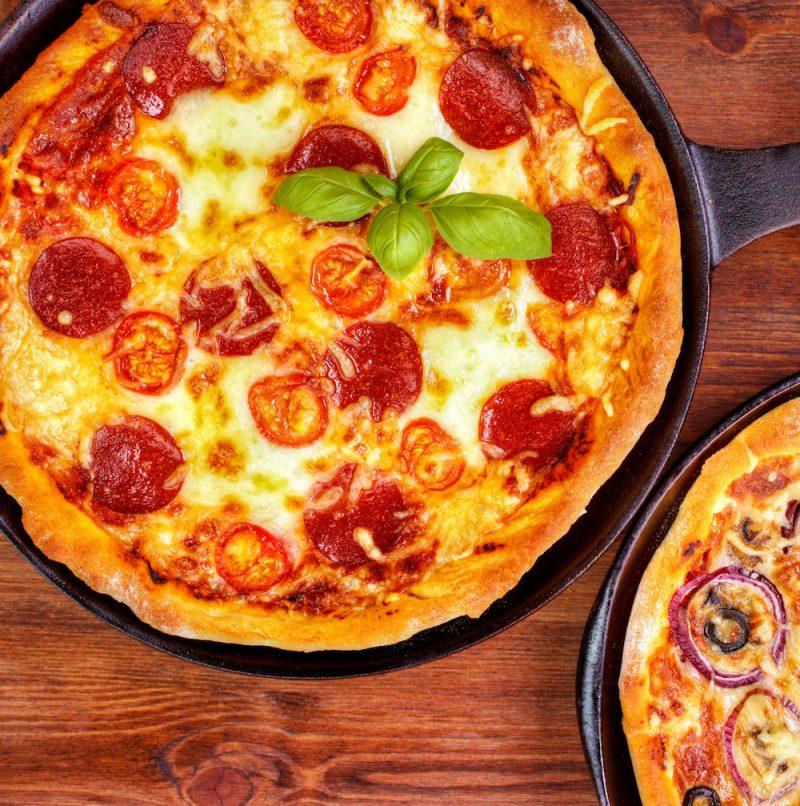 Ricetta pizza al tegamino