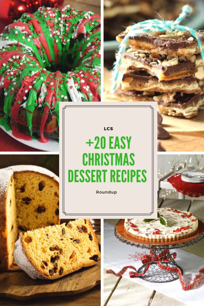 Christmas Dessert Roundup