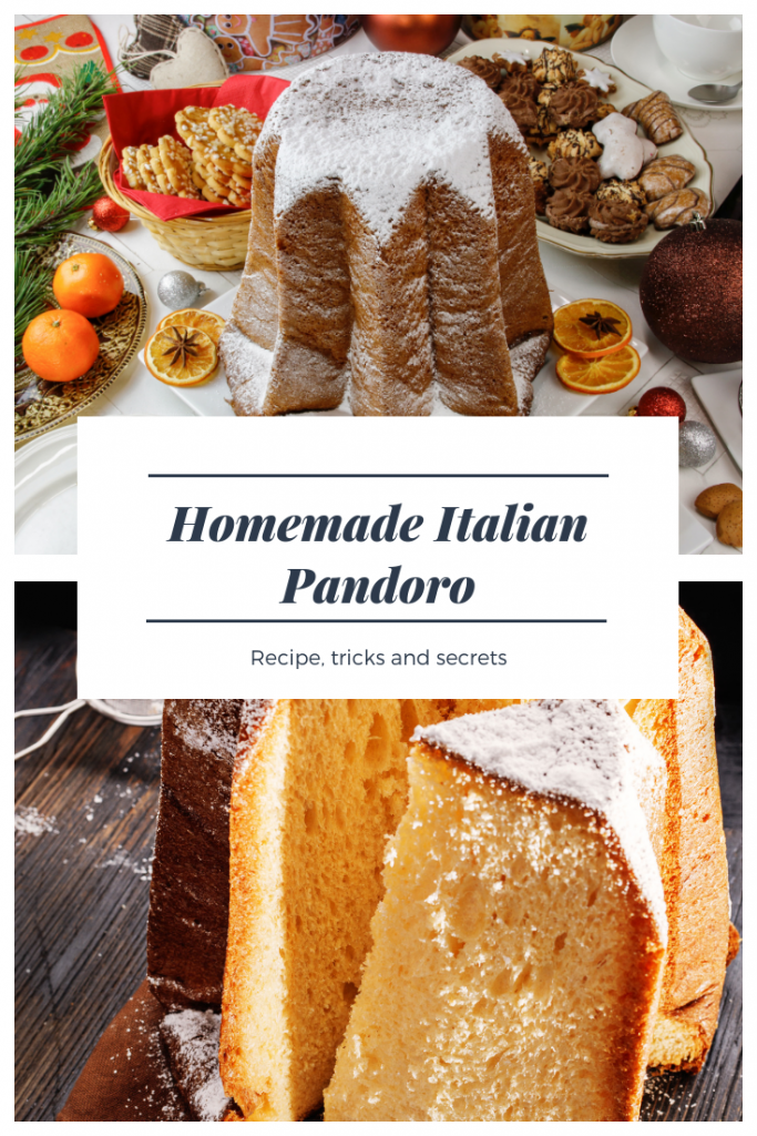 Homemade Italian Pandoro Recipe