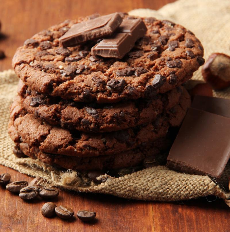Biscotti San Valentino cioccolato