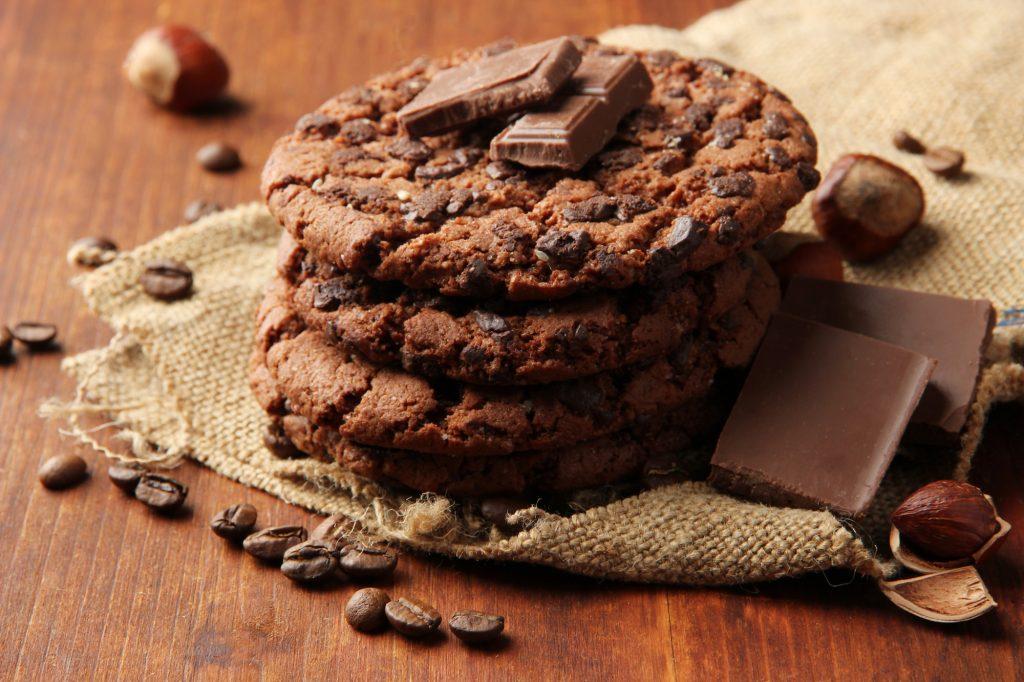 Biscotti di San Valentino cioccolato