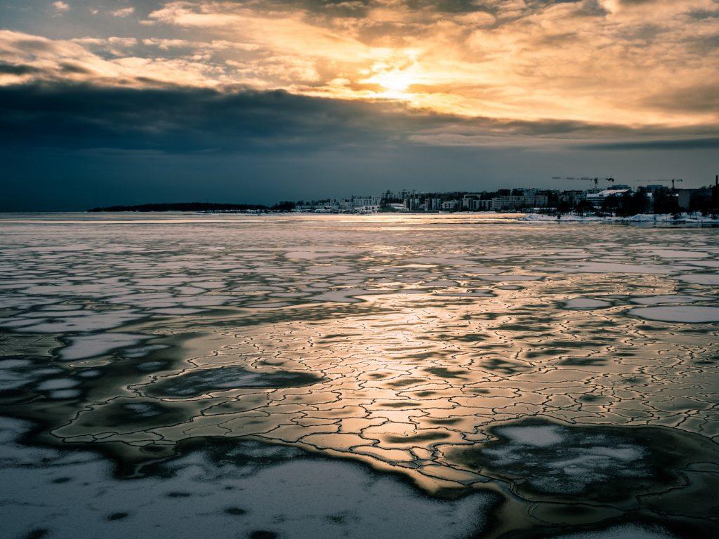 Helsinki ice